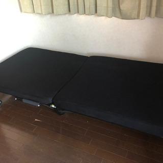決まりました!中古品 折り畳み シングルベッド