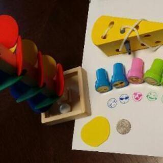 【1~3歳向き】知育玩具3点セット