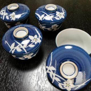 有田焼茶碗蒸し用の器4個さしあげます