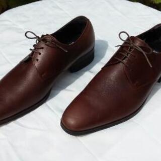最終出品 きれい 紳士革靴茶系②