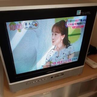 ブラウン管型地デジテレビ(中古)