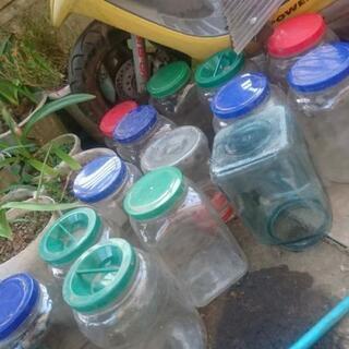 (引取待ち)ガラス瓶14個
