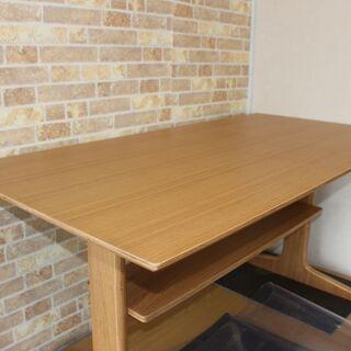 MUJI 無印 ダイニングでもリビングも使えるテーブル・チェア2...