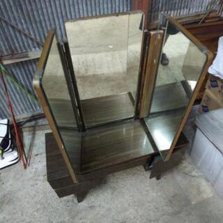 アンティーク三面鏡