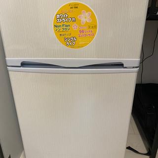 2ドア冷凍冷蔵庫 96L 2018年製