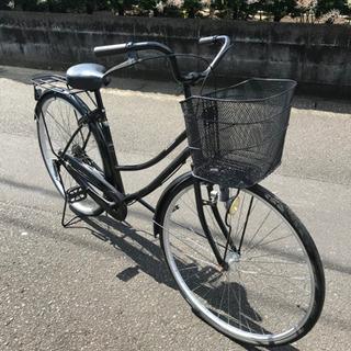 【27インチ】ママチャリ・変速無し・まだまだ乗れます・中古自転車
