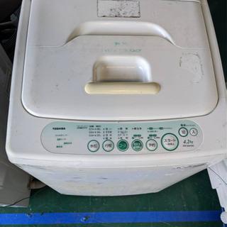 TOSHIBA 洗濯機 引取で無料!!!