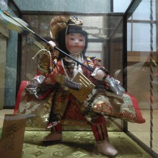 日本人形(津軽塗/矢の根/レトロ品)
