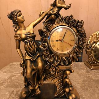 アンティーク調置き時計