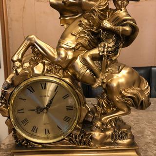 ナポレオン調置き時計