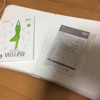 【決定しました】Wii fit本体 & ソフト & wiiモーシ...