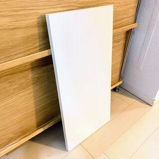 化粧棚板ホワイト60x30x2cm