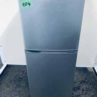 904番AQUA✨ノンフロン冷凍冷蔵庫✨AQR-141A‼️