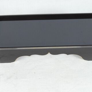 3516 未使用 仏具 茶湯台 5号 黒 14.7×6×4.3c...