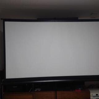 プロジェクタースクリーン 100inch 4K対応