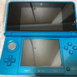 【新品】Nintendo 3DS ライトブルー 箱付き付属…