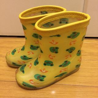 子供 長靴 13センチ カエル柄
