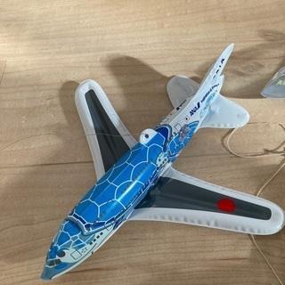 無料! ANA ビニール製飛行機5つ - 京都市
