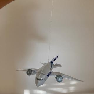 無料! ANA ビニール製飛行機5つ - おもちゃ