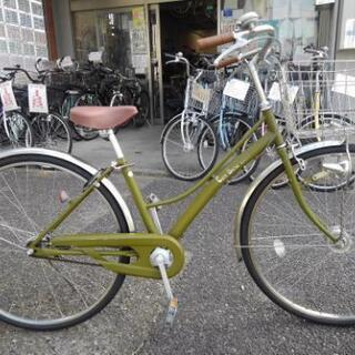 中古自転車1152 前後タイヤ新品! 27インチ ギヤなし オー...