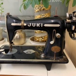 【値引き不可】アンティークJUKIのミシン10,000円