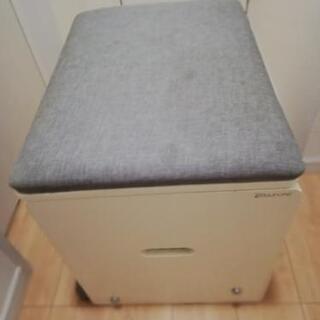 スツール ホワイト パソコンテーブル