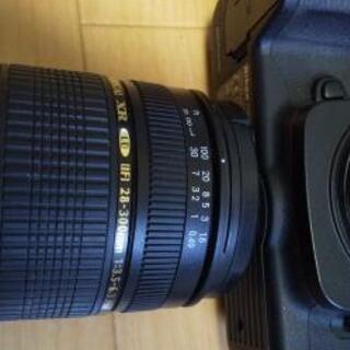 D200 Nikon 一眼レフ 美品 28-300mm レンズ付き - 家電