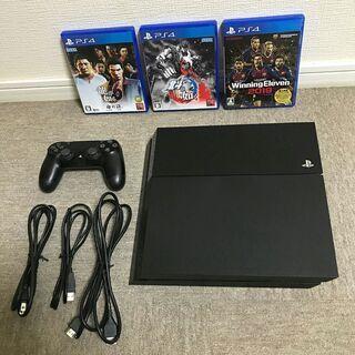 PlayStationp プレイステーション 4 ソフト3本付き...