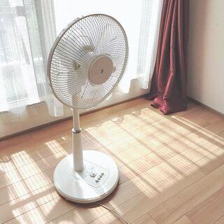 【山善】ACリビング扇風機 / 30cm扇 / タイマー付き
