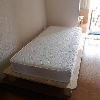【24日までに引き取り希望】パイン材すのこベッド