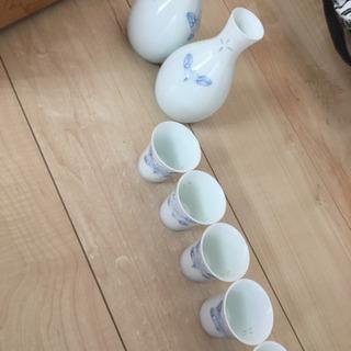一珍山茶花 有田焼 酒器