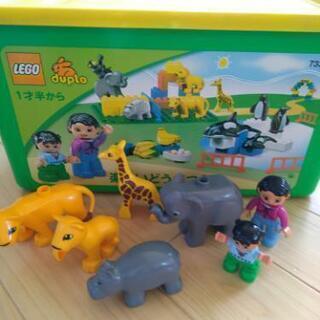 LEGOブロック 動物園 デュプロ