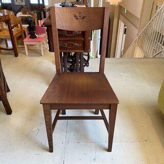 チェア 椅子 茶 made in italy アンティーク ヴィ...