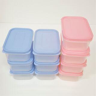 日本製 食品タッパー 10個セット / 未使用・保管品 2/2