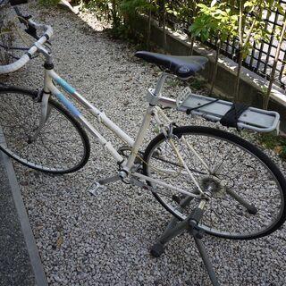 昭和の折り畳み自転車 ミヤタ製 アルミ合金