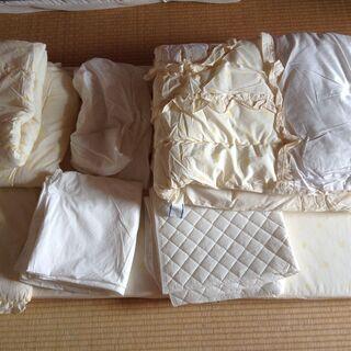 西川 ベビー布団7点セット(日本製)70×120cm