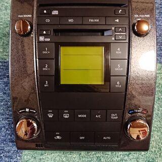 ワゴンR mh22sスティングレー純正CD/MDデッキです