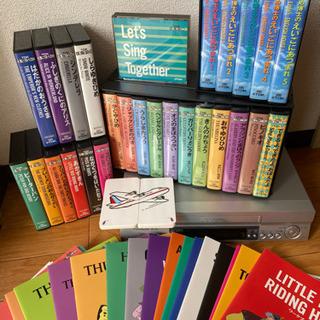 TDK えいごどうわ館 &   VHS(Victor)