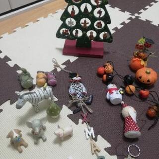 クリスマス、ハロウィーンの飾り&不要品セット♪