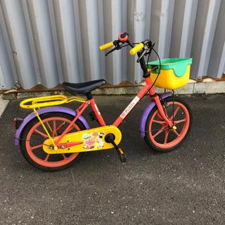 アンパンマン 自転車 16〜18インチくらい