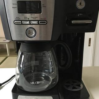 ジャンク品 Mr. Coffee コーヒーメーカー