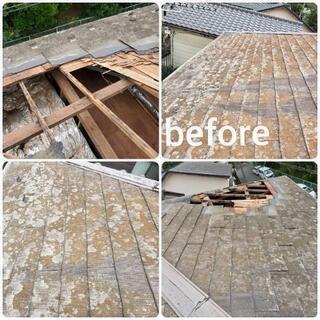 屋根の修理を承ります。