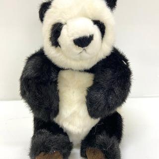 【レトロ】童心 オリジナルぬいぐるみ パンダ