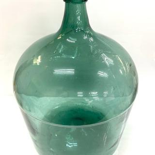 【レトロ品】ガラスの置物 ビッグサイズ