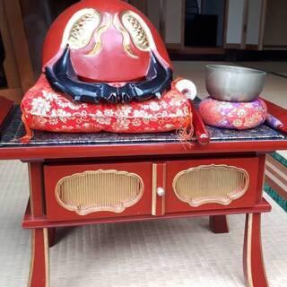 仏壇 仏具 木魚・リンセット