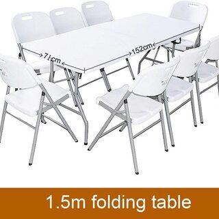 【未使用】折りたたみアウトドア テーブル BBQや PCテーブル...