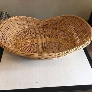 収納 木カゴ 竹カゴ カゴ  衣類収納用 No2