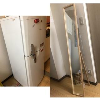 【ネット決済】家具・家電8点セット(洗濯機、冷蔵庫、ベッド、炊飯...