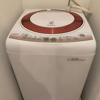 【ネット決済】【美品】洗濯機  SHARP ES-KS70L