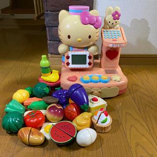女の子玩具 ハローキティ レジスター 作動OK